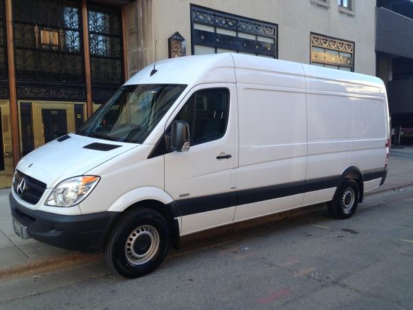 The Blank Van