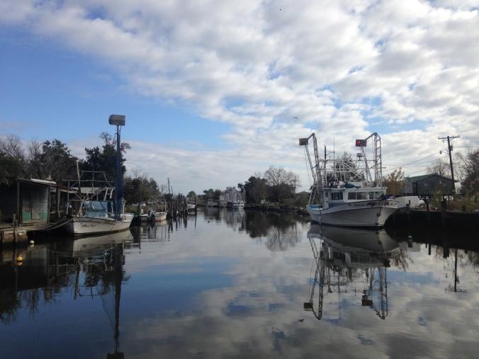 Fish and Shrimp Boats