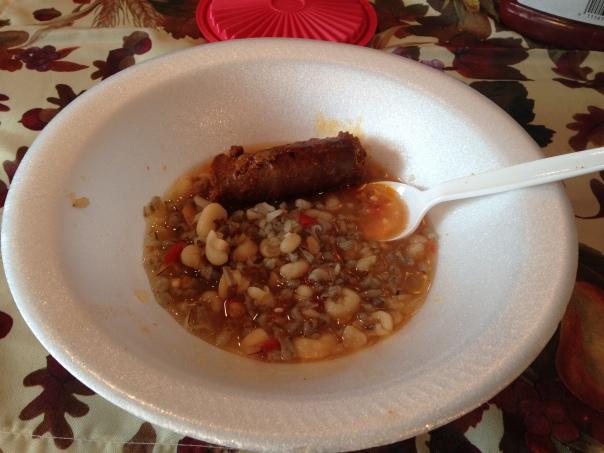 Bayou-style Corn Soup
