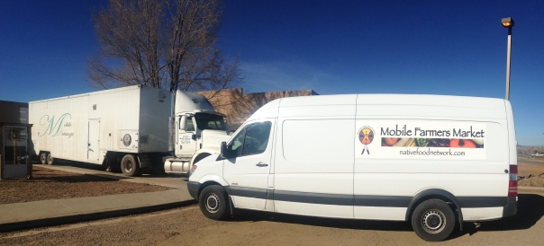 Getting Mobile: Mobile Matanza next to Mobile Farmers Market