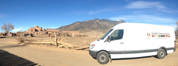 Mobile Farmers Market at Taos Pueblo