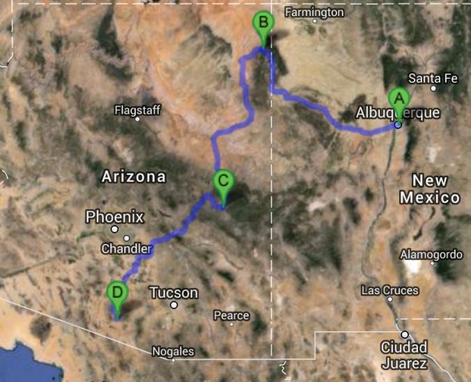 Arizona Route