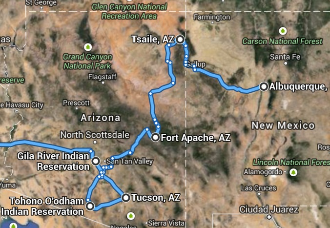 Arizona Route