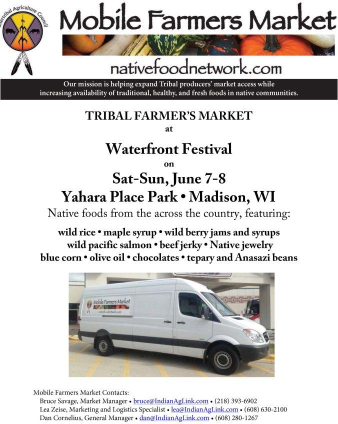Waterfront Festival Flyer