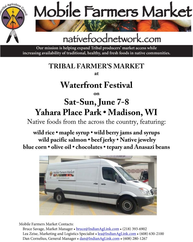 Waterfront Festival Flyer