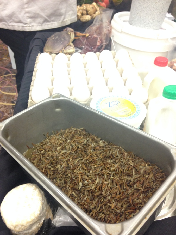 White Earth Wild Rice Donated by the Mobile Farmers Market