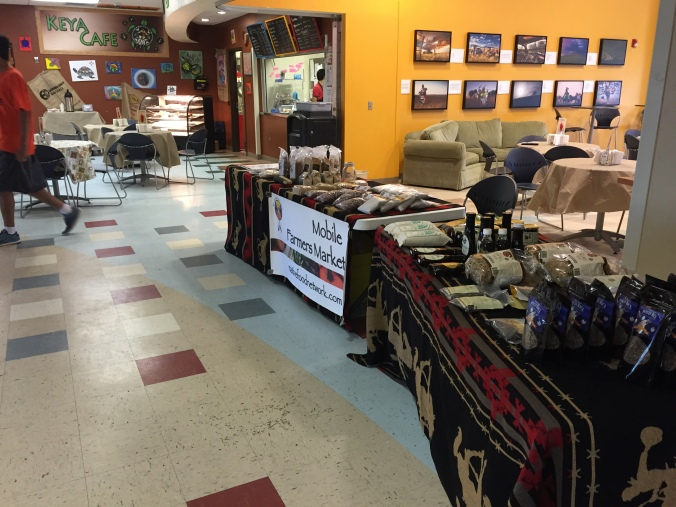 Market event at the Cheyenne River Youth Project in June 2015