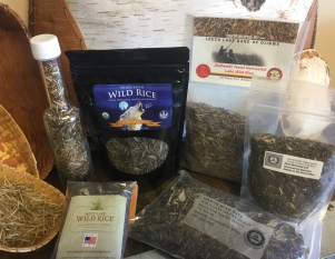 A great variety of native harvested wild rice