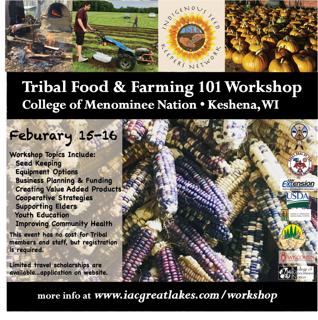 menominee workshop
