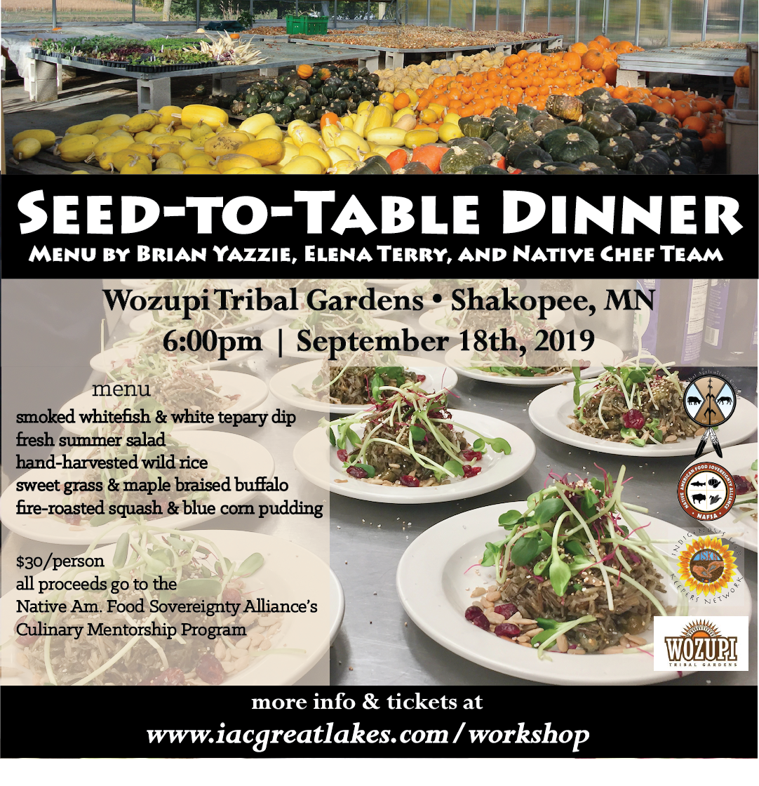 seed to table dinner#2